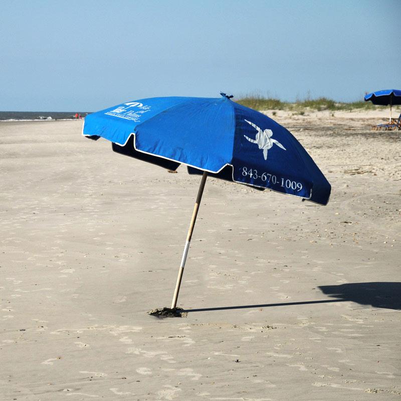 Beach Umbrella IOP Beach Chair