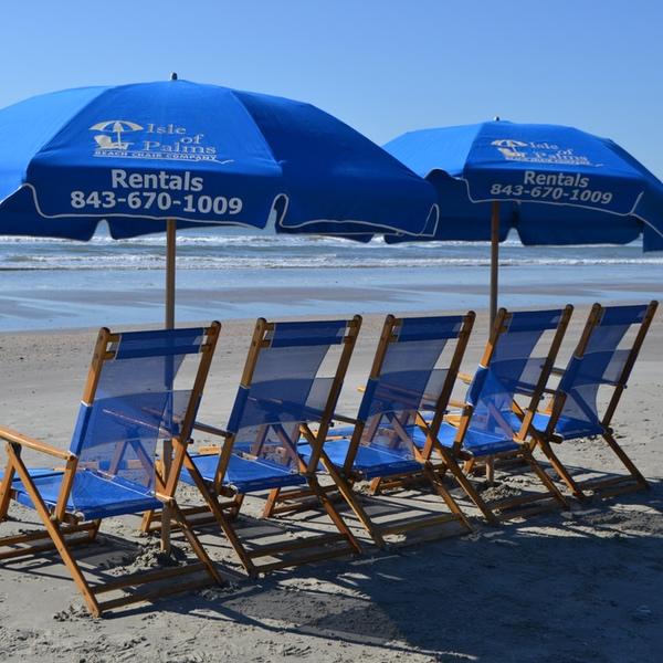 beach umbrella isle of palms sc