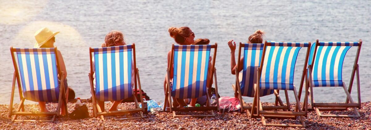 Does renting beach chairs make it easier on you